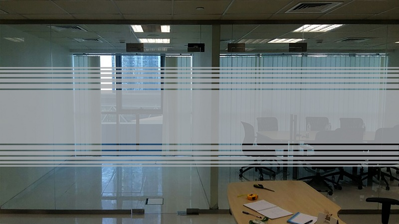 Frosted Sticker Glass Frosting Privacy Window Film Dubai