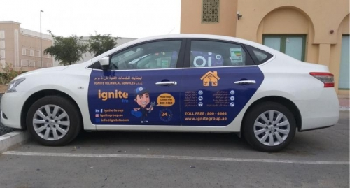 Car Sticker Companies in Dubai