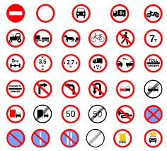 Road Sign Dubai