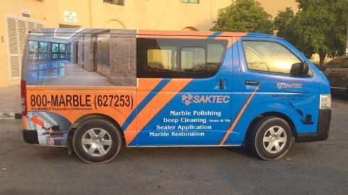 Vehicle Branding Company Dubai