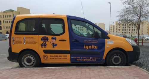 Vehicle Branding Dubai